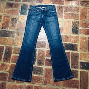 Distressed Zoe 3D Jeans by Lucky Brand SZ 27